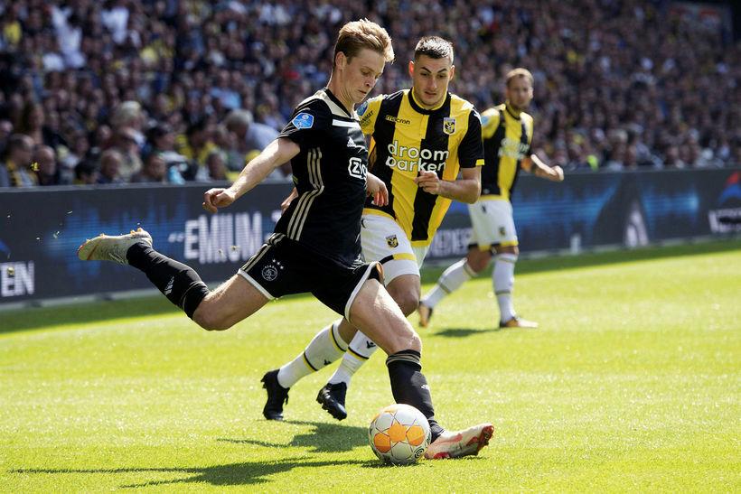 Ajax's Frenkie de Jong.