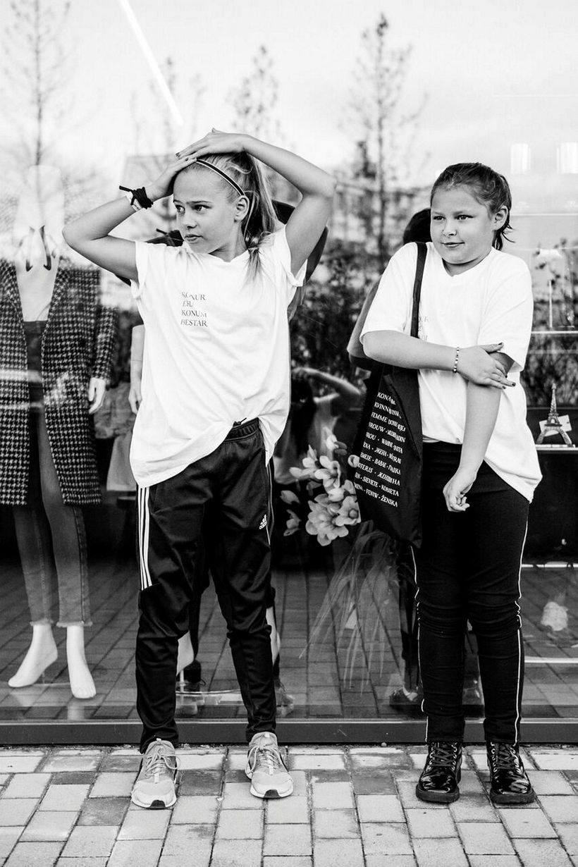 Magnea Sindradóttir og Halla Elísabet Viktorsdóttir.