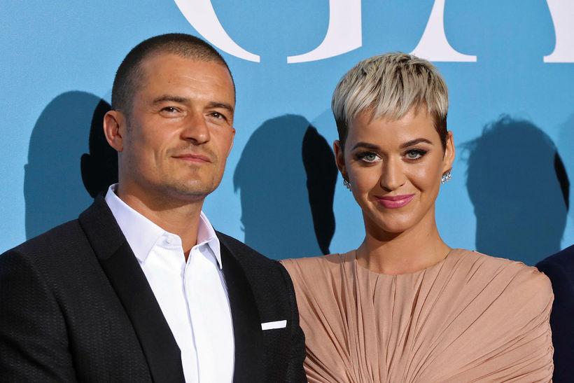 Orlando Bloom og Katy Perry eignuðust sitt fyrsta barn saman …