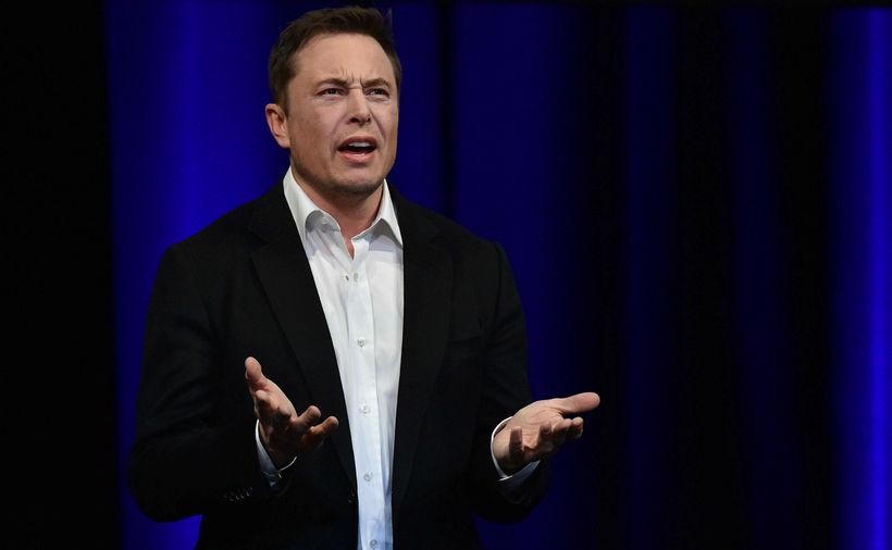 Elon Musk, forstjóri og stofnandi Tesla.