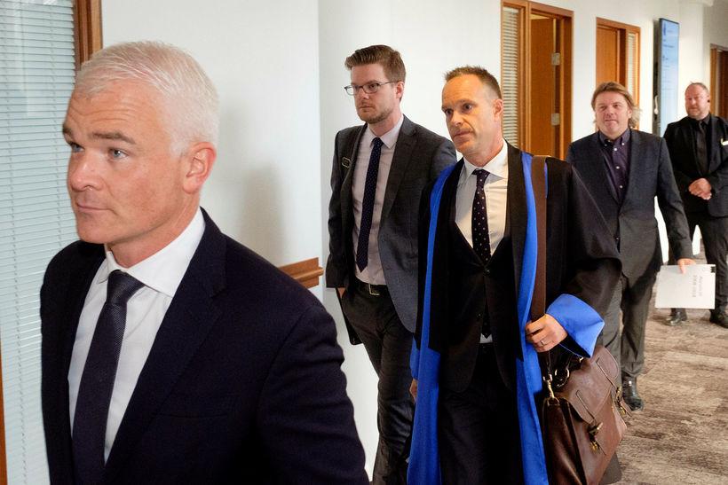 Lárus Welding, Óttar Pálsson lögmaður og Jón Ásgeir Jóhannesson.