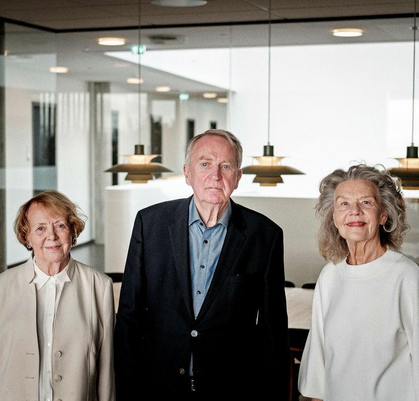 Heiðursborgarar Reykjavíkur, Vigdís Finnbogadóttir, Friðrik Ólafsson og Þorgerður Ingólfsdóttir