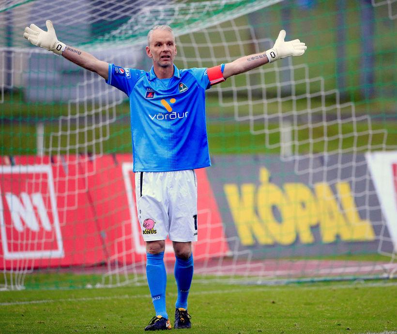 Gunnleifur Gunnleifsson, 43 ára markvörður og fyrirliði Breiðabliks.