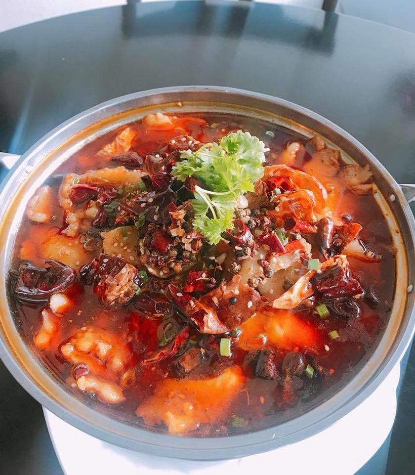 Sizzling Szechuan flavours at Fine