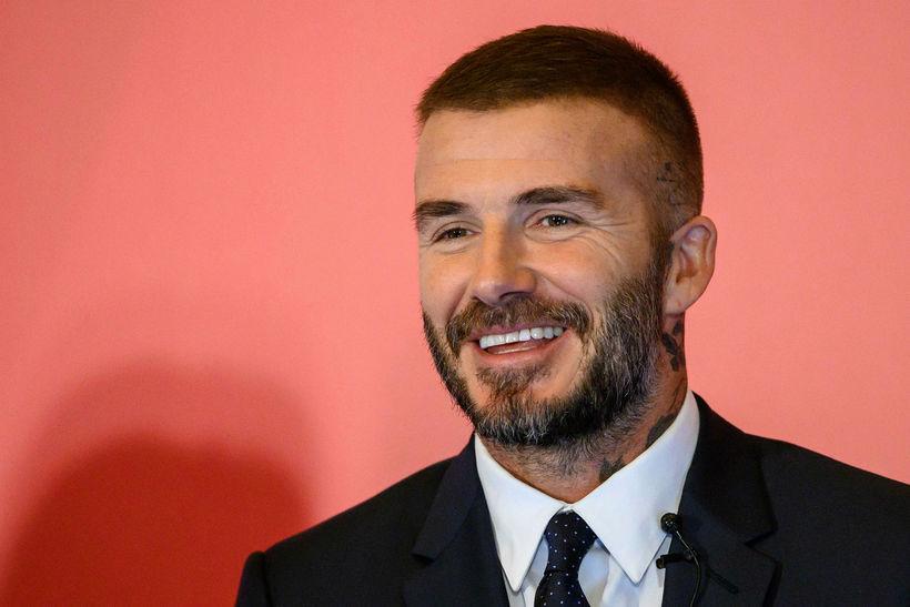 David Beckham í Hong Kong í september.