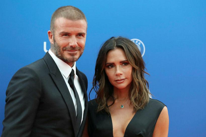 David Beckham var vanur að stelast í snyrtivörur Victoriu Beckaham.