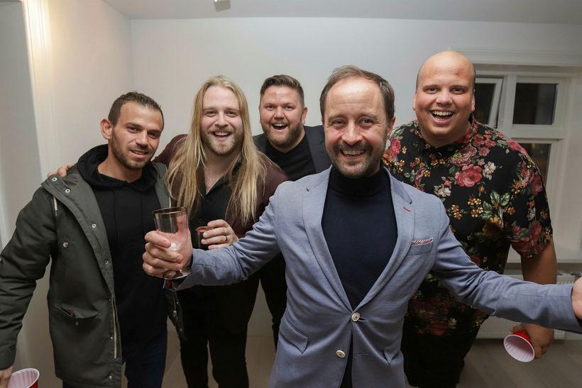 Karim Djermoun, Eyþór Ingi, Matti Matt, Gissur Páll og Siggi ...