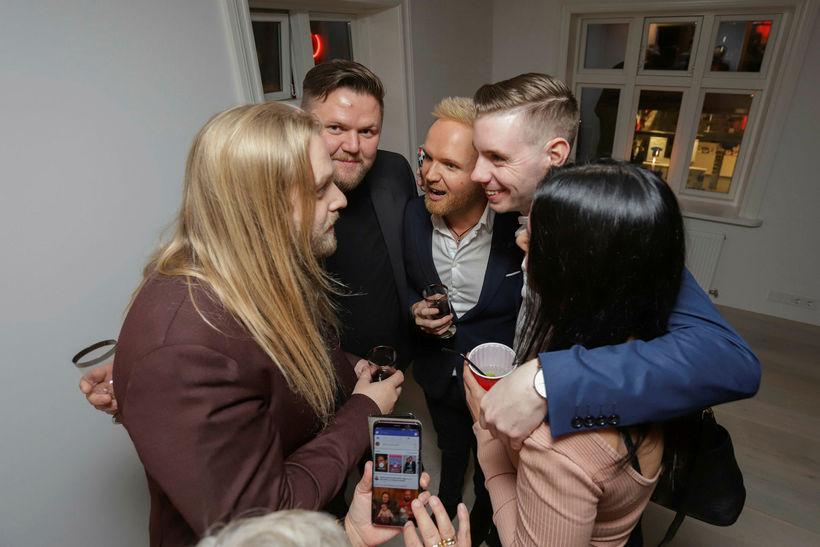 Eyþór Ingi, Matti Matti, Friðrik Ómar, Haukur Henriksen.