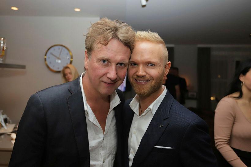 Pálmi Sigurhjartarson og Friðrik Ómar.