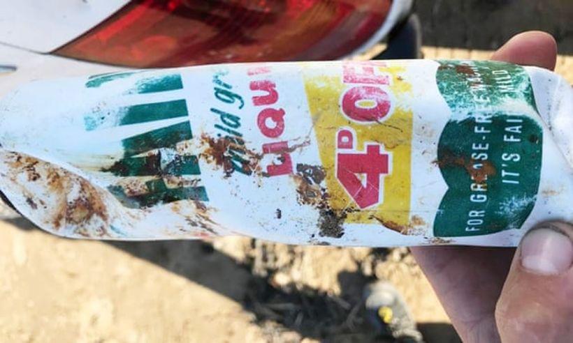 Plastflaskan kom líklega á markað fyrir meira en 47 árum.