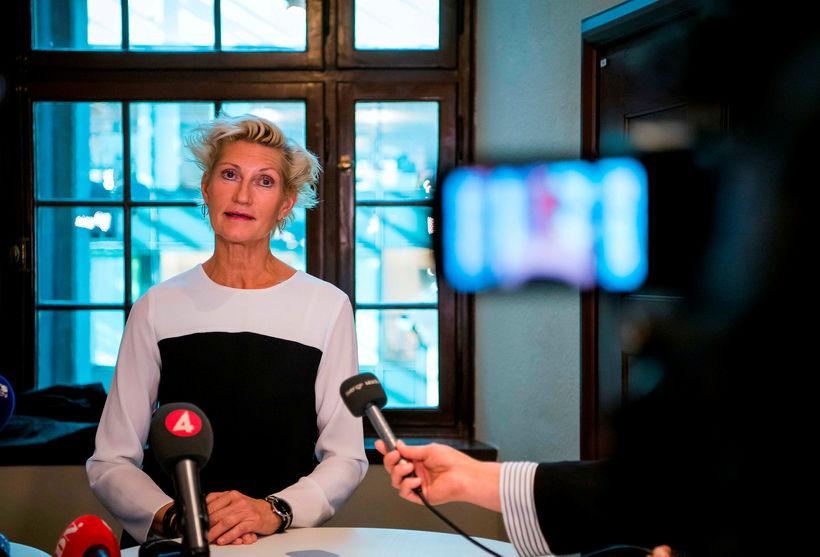 Christina Voigt ríkissaksóknari í Svíþjóð.