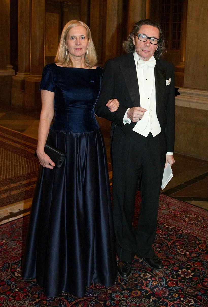 Hjónin Katarina Frostenson og Jean-Claude Arnault undir lok ársins 2011 ...