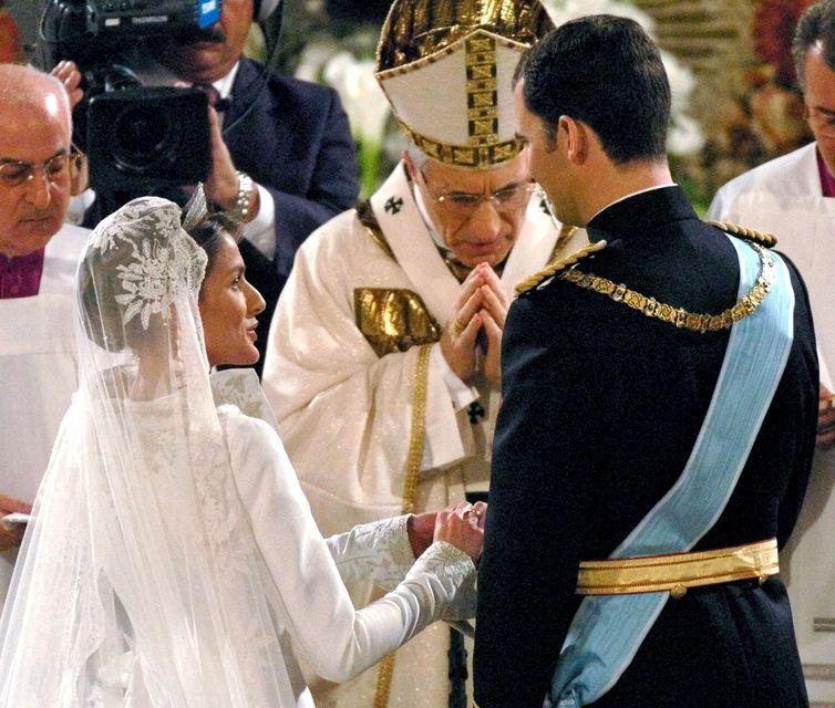 Felipe Spánarkóngur og drottning hans Letizia voru flott þegar þau ...