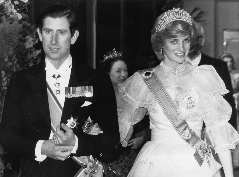 Karl Bretaprins og Díana prinsessa.