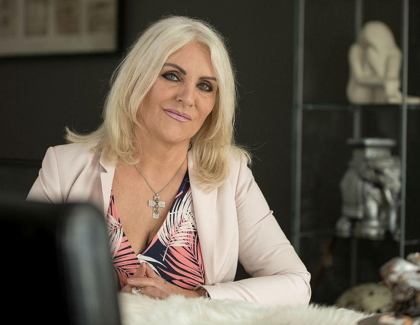 Linda Baldvinsdóttir, samskiptaráðgjafi og markþjálfi hjá Manngildi.