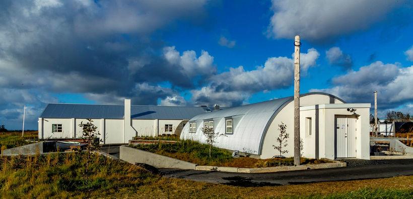 Bragginn í Nauthólsvík.