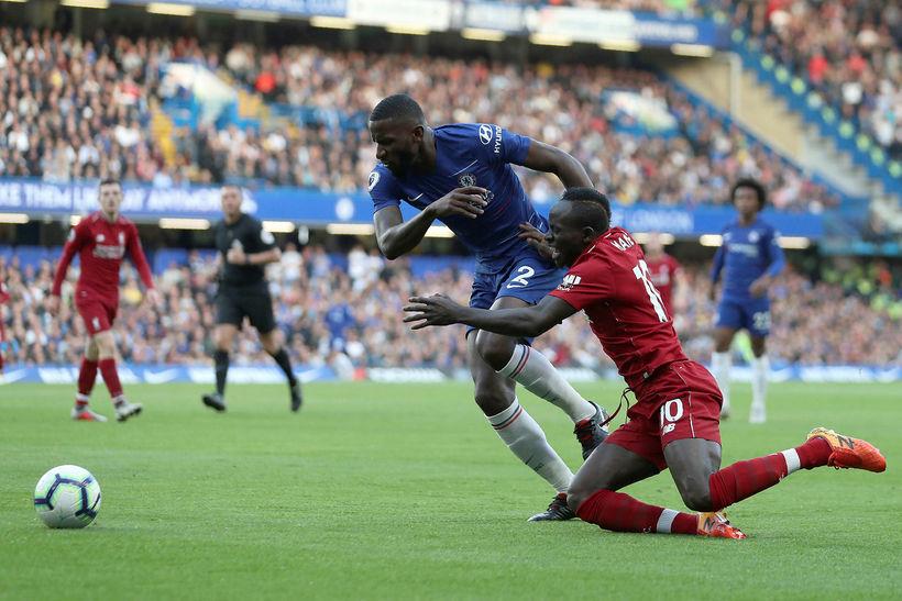Antonio Rüdiger hefur farið mjög vel af stað með Chelsea ...