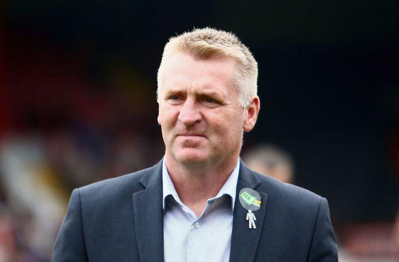 Dean Smith er nýr stjóri Aston Villa.