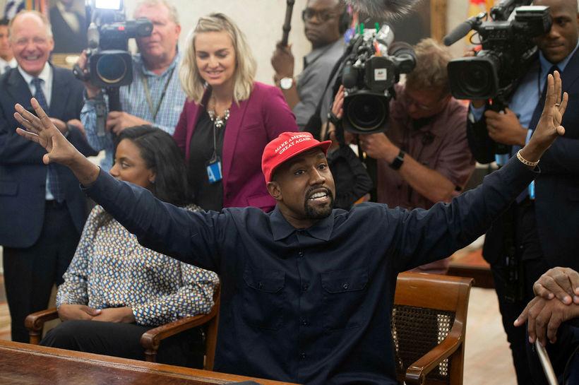Kanye segir að honum líði eins og ofurhetju þegar hann ...