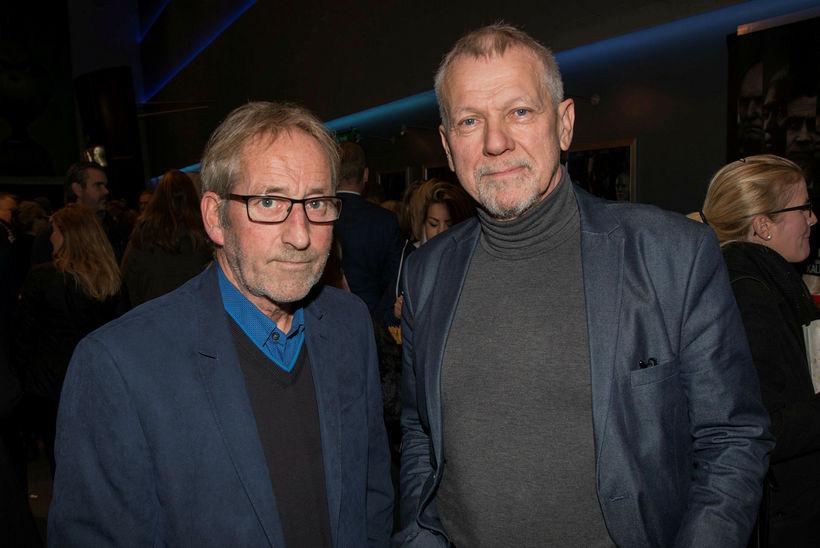 Sigurður Sigurjónsson og Pálmi Gestsson.