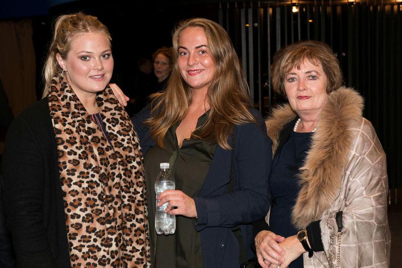 Guðrún Fanney Helgadóttir, Pálmey Helgadóttir og Jóhanna Gunnarsdóttir.