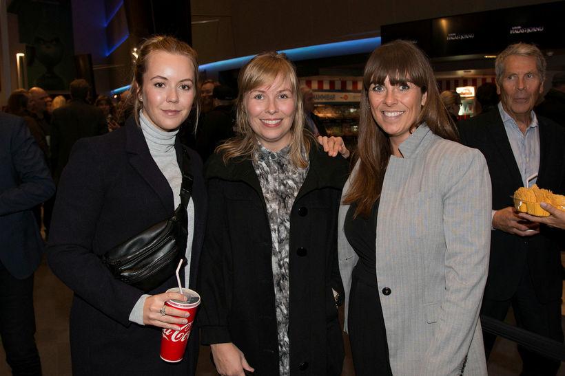 Anika Rut, Thelma og Kolbrún.