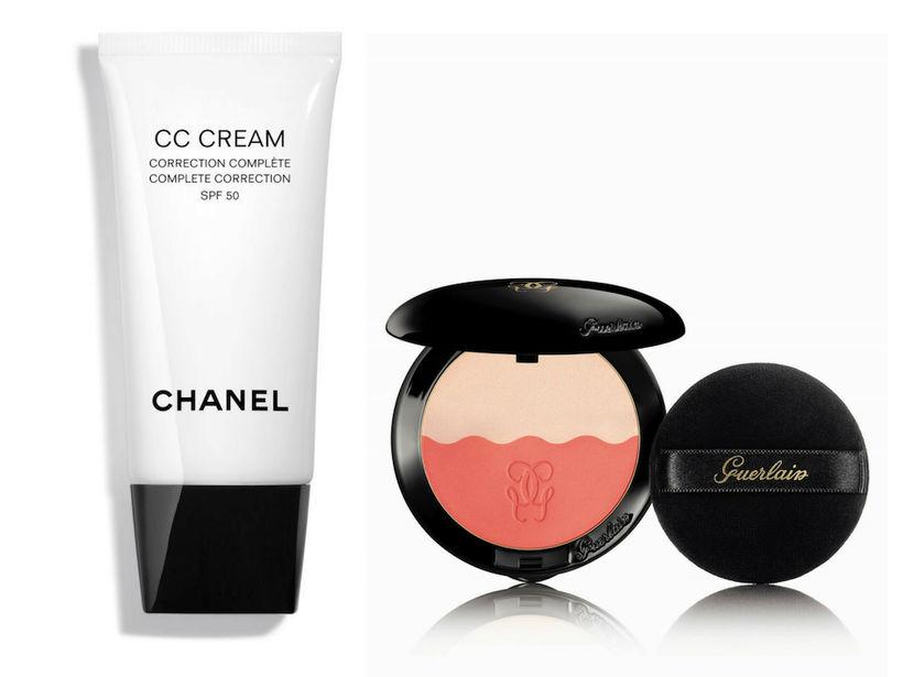 Chanel CC Cream Complete Correction SPF 50 og Guerlain Two-Tone …