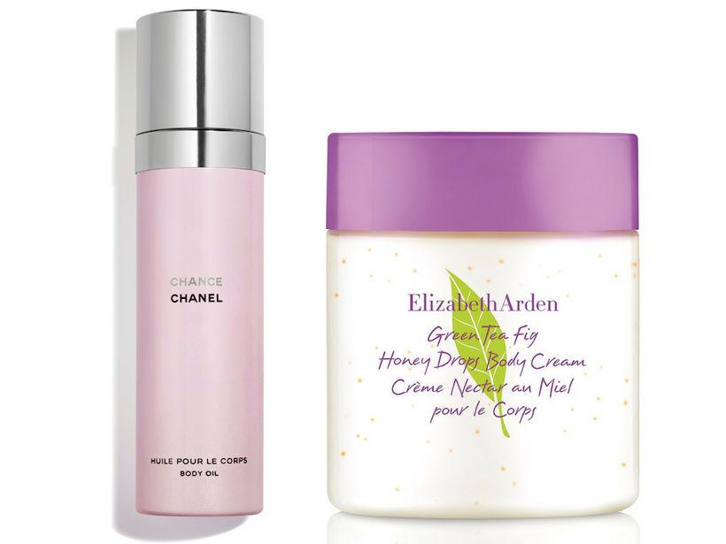 Chanel Chance Body Oil og Elizabeth Arden Green Tea Fig …