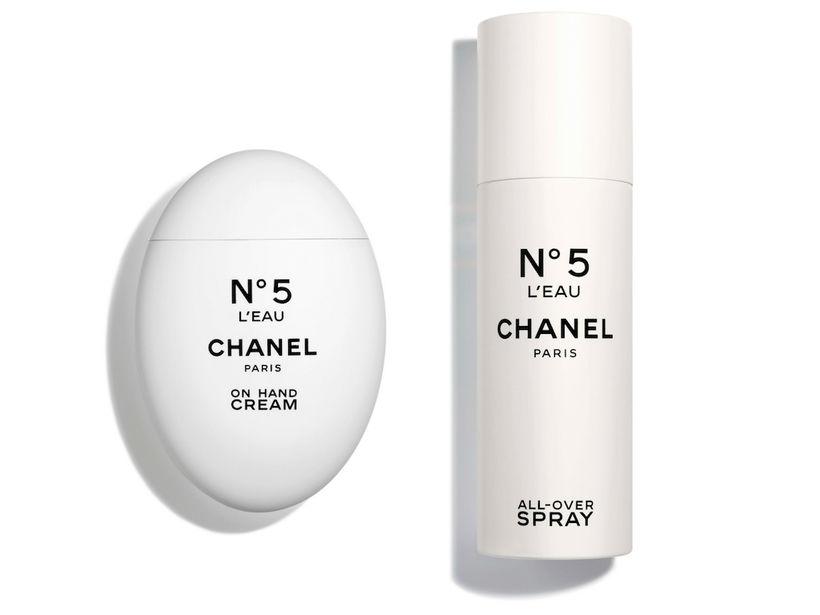 Chanel N°5 L'Eau On Hand Cream og Chanel N°5L´Eau All-Over …