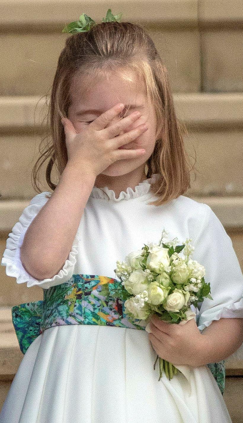 Karlotta prinsessa vekur alltaf mikla athygli.