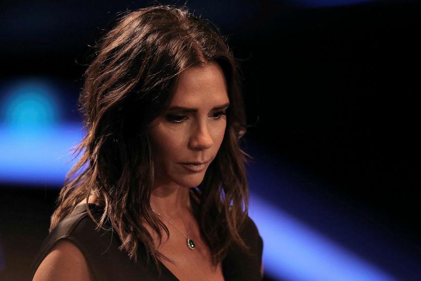 Victoria Beckham var afar kurteis og skildi eftir veglegt þjórfé.