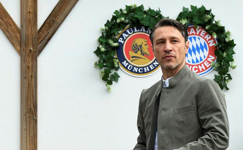 Niko Kovac, þjálfari Bayern München, er ekkert á förum.