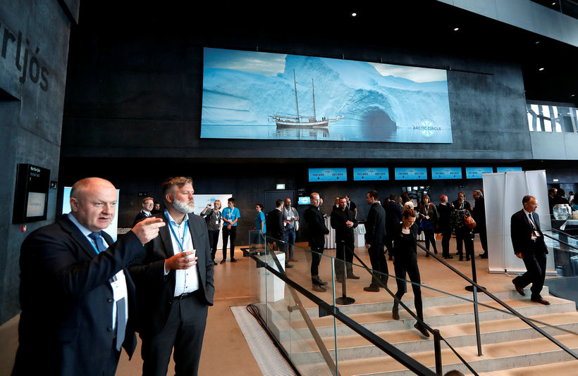 The assembly takes place in Harpa Concert Hall and Conference ...