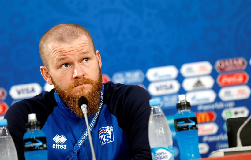 Aron Einar Gunnarsson er farinn að spila á ný.