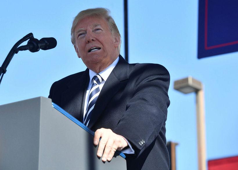 Rússar eru ekki mjög sáttir við yfirlýsingar Trump um að ...