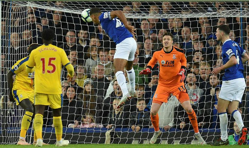 Dominic Calvert-Lewin kom Everton á bragðið gegn Crystal Palace í ...