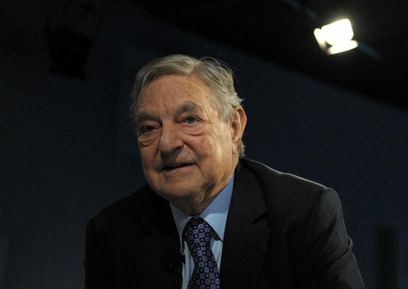 George Soros er einn þeirra sem standa að bréfinu.