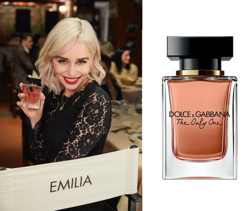 Emilia Clarke er andlit ilmvatnsins The Only One frá Dolce ...