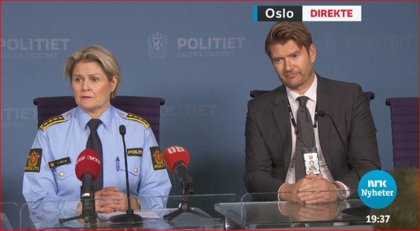 Grete Lien Metlid og Christian Hatlo greina frá handtökunni í ...