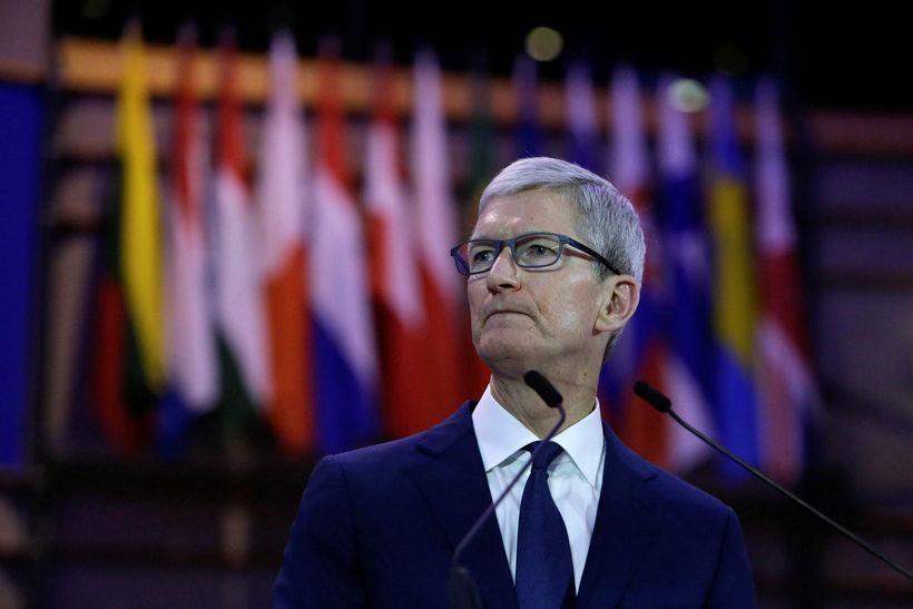 Tim Cook, framkvæmdastjóri Apple, sagði verið að vopngera misnotkun verulega ...