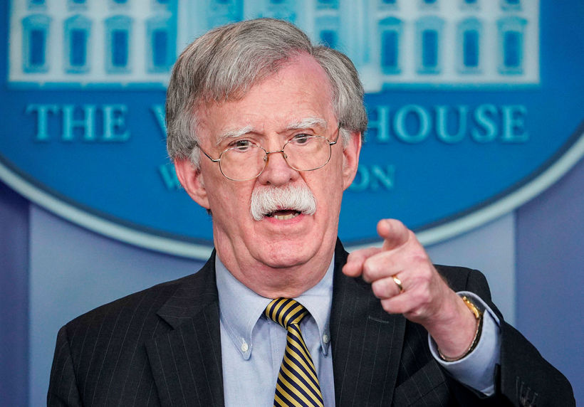 John Bolton, þjóðaröryggisráðgjafi Bandaríkjanna.
