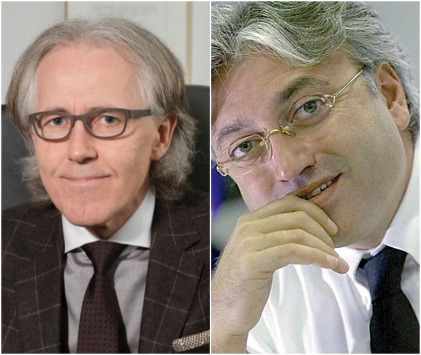Jóhannes Rúnar Jóhannsson lögmaður (t.v.) og Robert Tchenguiz fjárfestir.