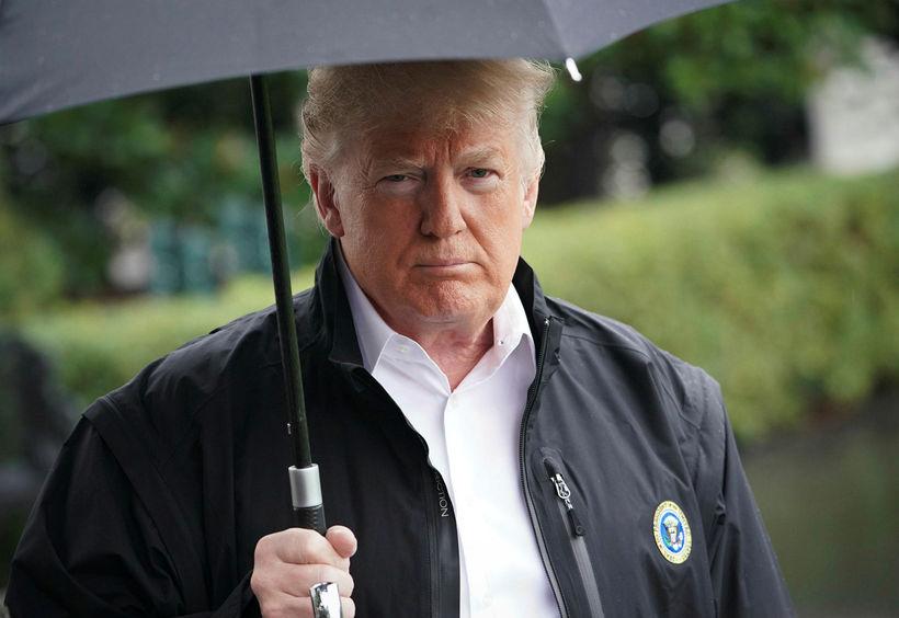 Donald Trump Bandaríkjaforseti..