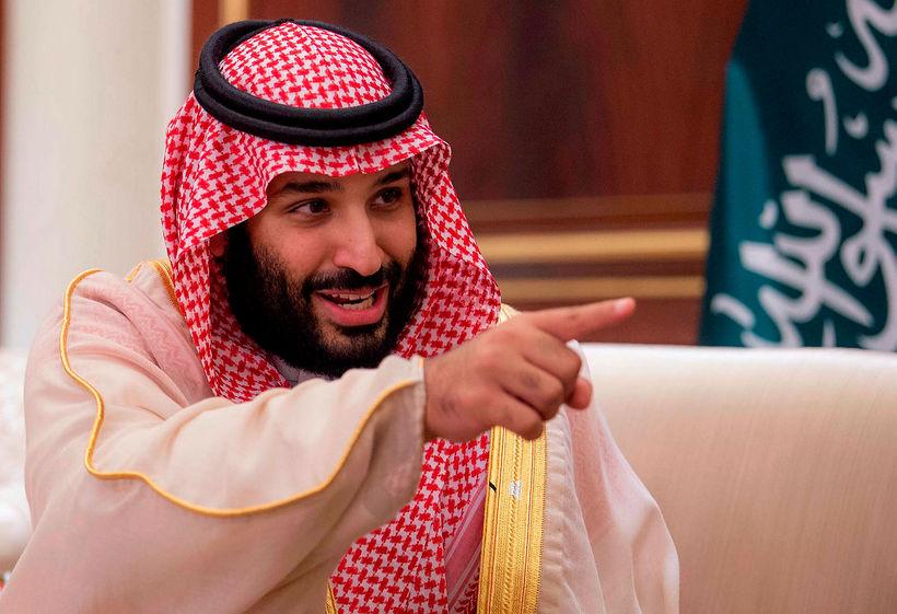Krónprinsinn Mohammad bin Salman.