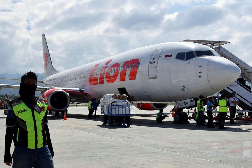 Farþegaþota í eigu flugfélagsins Lion Air.