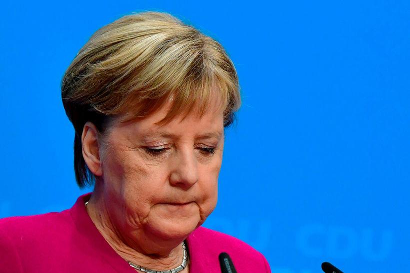 Angela Merkel, kanslari Þýskalands, hefur staðfest að hún muni ekki ...