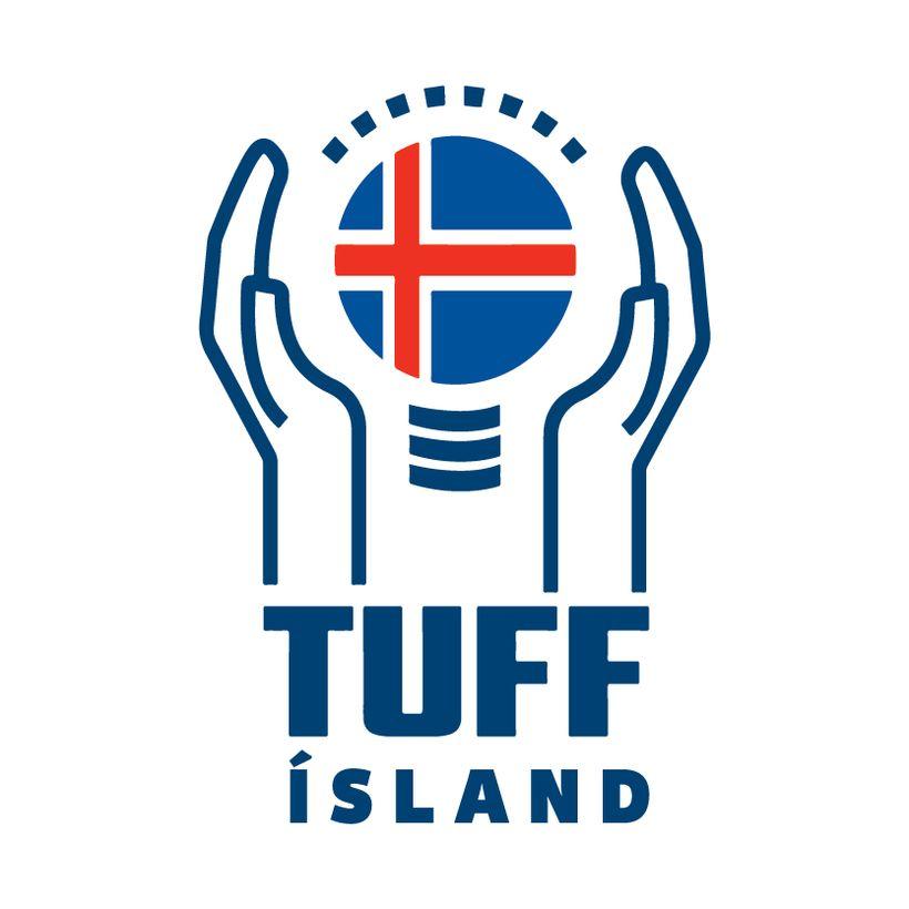 Merki TUFF Ísland.