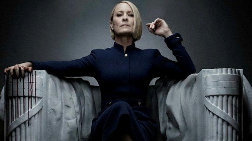 Claire Underwood er eitursvöl í nýjustu þáttaröðinni sem frumsýnd verður ...
