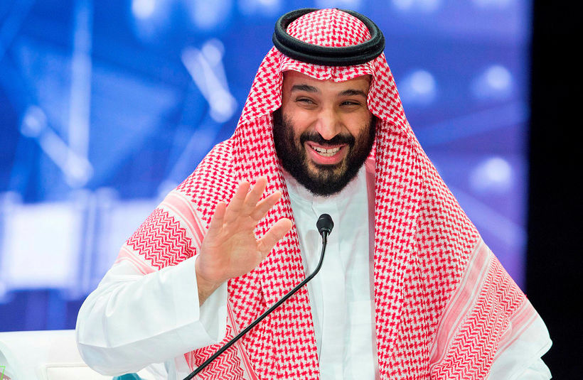 Mohammed bin Salman, krónprins Sádi-Arabíu.