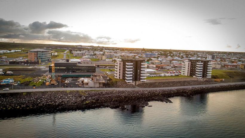 Frá Reykjanesbæ.